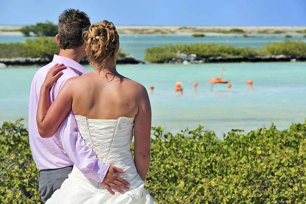 Huwelijksreis ABC-eilanden
