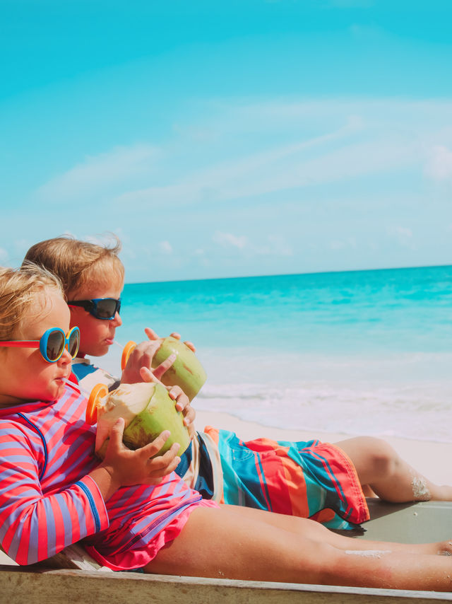 Kinderen ABC-eilanden