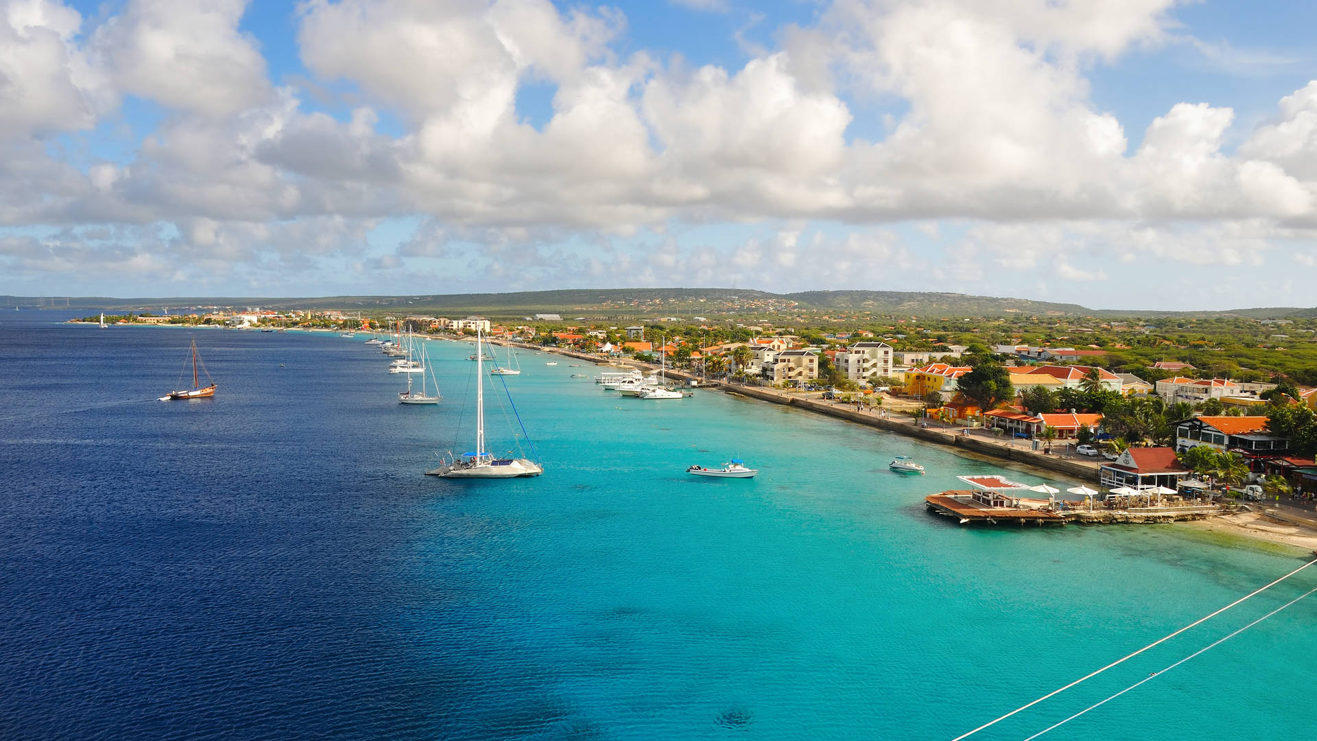 Bonaire uitzicht